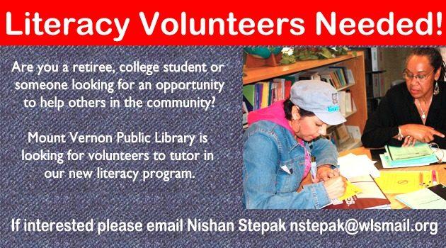 Literacy Volunteer